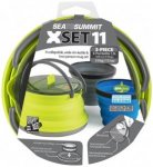 Sea to Summit - X-Set 11 - Geschirr-Set grün/blau