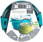 Sea to Summit - X-Set 33 - Geschirr-Set blau/grün