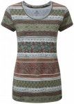 Sherpa - Women's Kira Tee - T-Shirt Gr S grau/braun/oliv