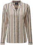 Sherpa - Women's Kiran Long Sleeve Shirt - Bluse Gr M grau/beige