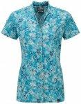 Sherpa - Women's Minzi S/S Shirt - Bluse Gr M türkis/grau/blau