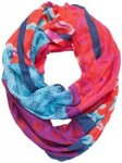 Sherpa - Women's Tseyang Infinity Scarf - Schal grau/rosa/türkis