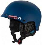 SHRED - Half Brain D-Lux - Skihelm Gr XS-M blau/schwarz;schwarz