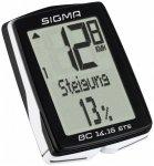 Sigma - BC 14.16 STS - Radcomputer schwarz/weiß