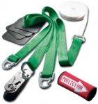 Slackline-Tools - Clip'n Slack Set 10 m - Slackline-Set Gr 10 m grün/weiß