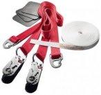 Slackline-Tools - Clip'n Slack Set 15 m - Slackline-Set Gr 15 m rot/weiß