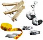 Slackline-Tools - Kid's Frameline Set - Slackline Gr 8 m