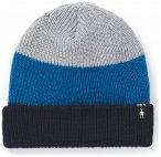 Smartwool - Cantar CB Watchcap - Mütze Gr One Size grau/schwarz/blau
