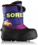 Sorel - Children's Snow Commander - Winterschuhe Gr 12,5K schwarz/lila