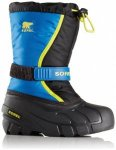 Sorel - Youth Flurry - Winterschuhe Gr 4 schwarz/blau