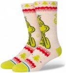 Stance - Grinch Sweater - Multifunktionssocken Unisex L beige/gelb/weiß