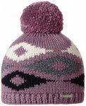 Stöhr - Iris - Mütze Gr One Size grau/schwarz;weiß/grau;grau/lila/schwarz