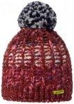 Stöhr - Women's Dika - Mütze Gr One Size rot;grau/schwarz