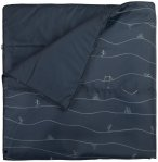 Stoic - MolganSt. Blanket - Decke Gr 165cm x 190cm  Schwarz/Blau