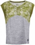 SuperNatural - Women's Active Tee Printed - Yogashirt Gr S grau