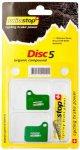 SwissStop - Belag Shimano Disc5 - Bremsbeläge grün