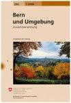 Swisstopo - 2502 Bern und Umgebung - Wanderkarte Ausgabe 2013