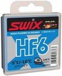 Swix - HF6X -5/-10 °C - Heißwachs Gr 40 g blau