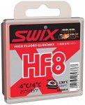 Swix - Hf8X Red, -4°C/4 °C - Heißwachs Gr 40 g