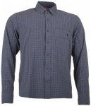 Tatonka - Nilo L/S-Shirt - Hemd Gr L grau/schwarz/blau
