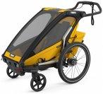 Thule - Chariot Sport 1 - Kinderanhänger schwarz/grau