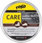 Toko - Leatherbalm Gr 50 g grau/ gelb