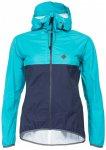 Triple2 - Smudd Jacket Women - Regenjacke Gr M türkis/blau