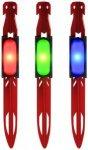 UCO - Zelthering Mit LED - Zelthering Gr 23 cm rot/blau
