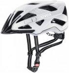 Uvex - City Active - Radhelm Gr 52-57 cm grau/schwarz/weiß