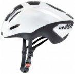 Uvex - EDAero - Radhelm Gr 57-59 cm weiß/schwarz/grau