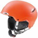 Uvex - Jakk+ - Skihelm Gr 52-55 cm orange/schwarz/rot