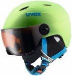 Uvex - Kid's Visor Pro - Skihelm Gr 54-56 cm grün/schwarz