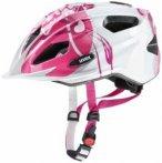 Uvex - Quatro Junior - Radhelm Gr 50-55 cm rosa/grau/weiß