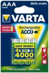 Varta - Accu ReadyToUse AA 56703 - Akkus Gr 1,2 V - 800 mAh - 4-Pack grün/grau
