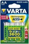 Varta - Accu ReadyToUse AA 56756 Gr 1,2 V - 2.400 mAh - 4-Pack grün/grau