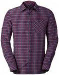Vaude - Albsteig L/S Shirt - Hemd Gr 3XL;L;M;S;XL;XXL lila;grau/blau;rosa/grau