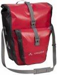 Vaude - Aqua Back Plus - Gepäckträgertasche Gr 51 l rosa/rot/schwarz/grau