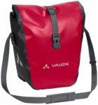 Vaude - Aqua Front - Fahrradtasche Gr 28 l rosa/rot/schwarz/grau