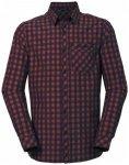 Vaude - Heimer L/S Shirt II - Hemd Gr 3XL;L;M;S blau;schwarz/lila;grau/schwarz