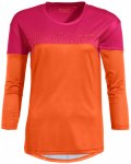 Vaude - Women's Moab L/S T-Shirt V - Funktionsshirt Gr 36;38;40;42 orange/rosa/r