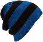 Volcom - Stripe Beanie - Mütze Gr One Size schwarz/braun/gelb