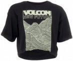 Volcom - Women's Super Stoned Tee - T-Shirt Gr L;M;S weiß/grau