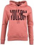 Volcom - Women's Vol Stone Hoody - Hoodie Gr XS rot