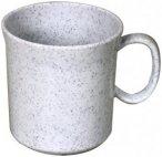 Waca - Melamin Henkelbecher - Geschirr Gr 400 ml granit