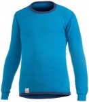 Woolpower - Kids Crewneck 200 - Merinounterwäsche Gr 98/104 - Years 3/4 blau