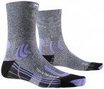 X-Socks - Women's Trek Retina - Wandersocken 35/36;37/38;39/40;41/42 grau/schwar
