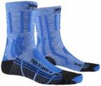 X-Socks - Women's Trek X Linen - Wandersocken 35/36;41/42 blau/schwarz;rosa/rot/