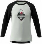 Zimtstern - Pureflowz Shirt 3/4 - Radtrikot Gr XL grau/schwarz