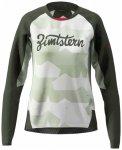 Zimtstern - Women's Techzonez Shirt L/S - Radtrikot Gr L grau/schwarz
