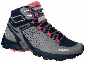 Salewa - Women's Alpenrose Ultra Mid GTX - Wanderschuhe Gr 8 grau/schwarz